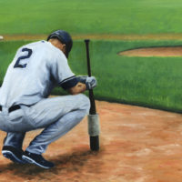 Jeter Oil Painting