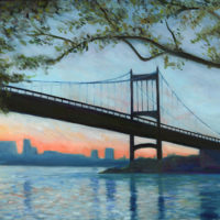 Tribourogh Bridge Oil Painting