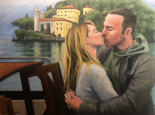 Click the image to see and read more about this oil painting project.