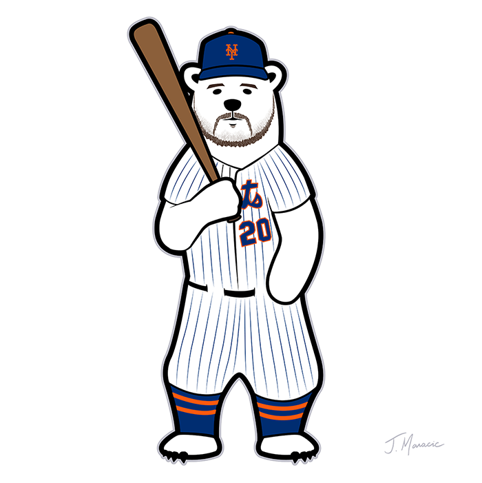 Polar Bear Pete Alonso